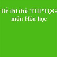 Đề thi thử THPT quốc gia môn Hóa học năm 2018 trường THPT chuyên Đại học Vinh - Nghệ An (Lần 3)