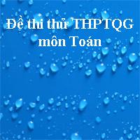 Đề thi thử THPT quốc gia môn Toán năm 2018 trường THPT Đoàn Thượng - Hải Dương (Lần 2)