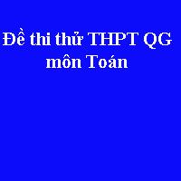 Đề thi thử THPT quốc gia môn Toán năm 2018 Sở GD&ĐT Vĩnh Phúc (Lần 2)