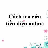 Cách tra cứu tiền điện online