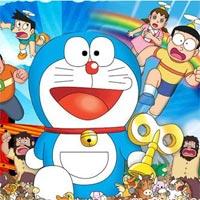 Tranh tô màu Nobita dành cho các bé