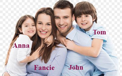 Từ vưng Gia đình