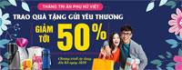 Gia dụng Sunhouse - Khuyến mại tưng bừng, chào mừng ngày Phụ Nữ Việt Nam