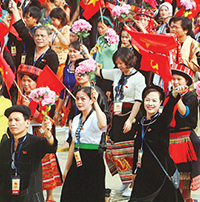 Mẫu giấy mời dự ngày hội đại đoàn kết dân tộc