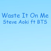 Lời hái hát Waste It On Me Steve Aoki feat BTS