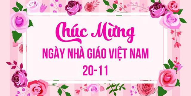 Mẫu phông nền ngày nhà giáo Việt Nam 20-11