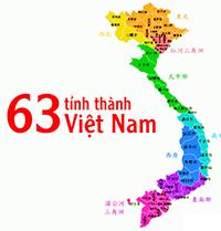 Danh sác các tỉnh thành phố ở Việt Nam