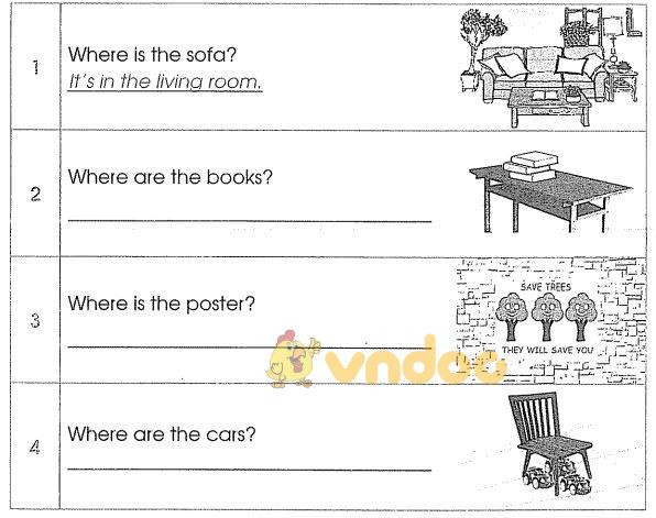 Bài tập cuối tuần môn Tiếng Anh lớp 3 - Tuần 21