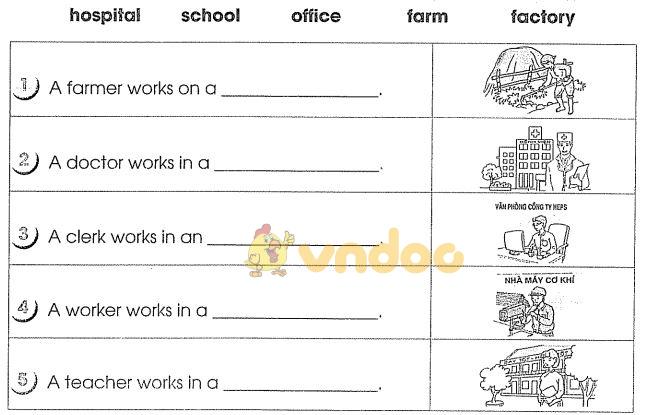 Bài tập cuối tuần môn Tiếng Anh lớp 4 - Tuần 19