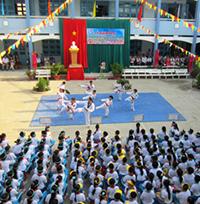 Thông tin trường tiểu học Lê Quý Đôn