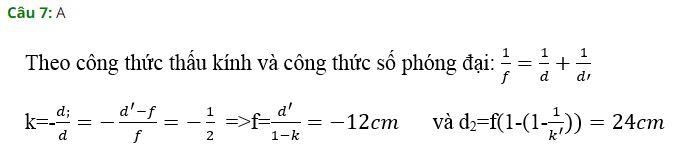 Vật lý 11 chương 7