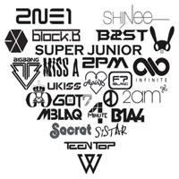 Nhận dạng logo của các nhóm nhạc Kpop