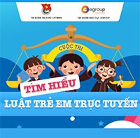 Thi Tìm hiểu Luật trẻ em Bảng A (Cấp tiểu học) Chủ đề 1: Chăm sóc, giáo dục và bảo vệ trẻ em