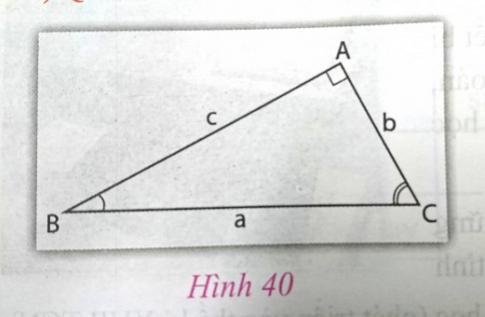 Soạn Toán 9 bài 5 Một số hệ thức về cạnh và góc trong tam giác vuông VNEN