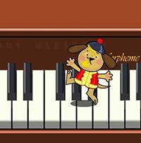 Phần mềm gấu chơi Piano - Tải Gấu chơi Piano