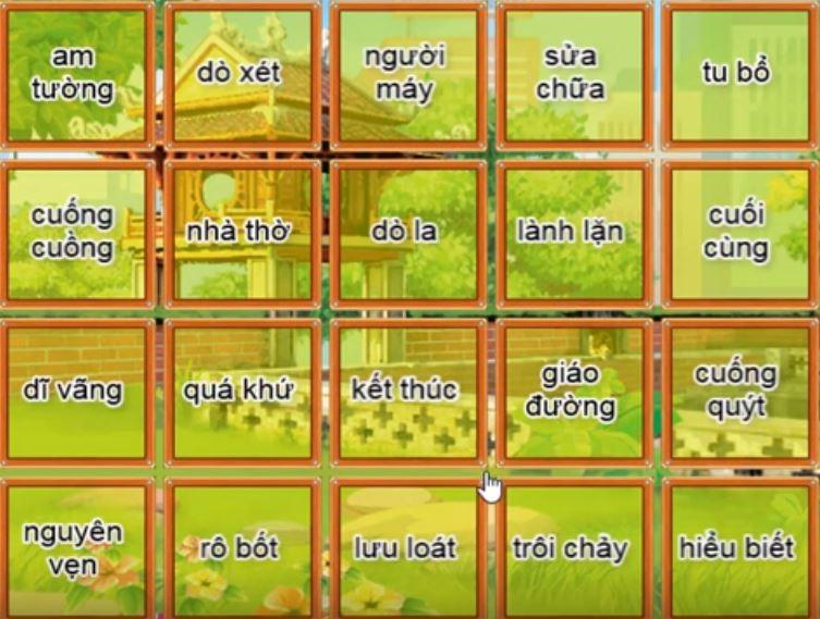 Đề thi Trạng Nguyên Tiếng Việt lớp 5 vòng 13