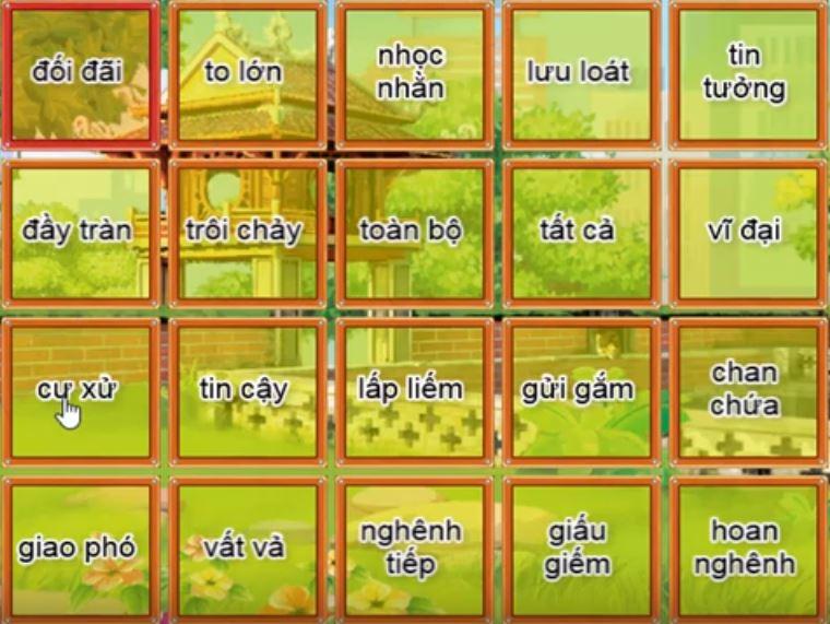 Trạng nguyên Tiếng Việt lớp 5 vòng 14