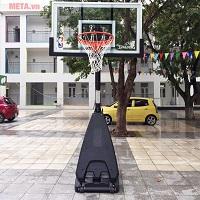 Địa chỉ mua trụ bóng rổ giá rẻ chất lượng cho nhà trường, gia đình