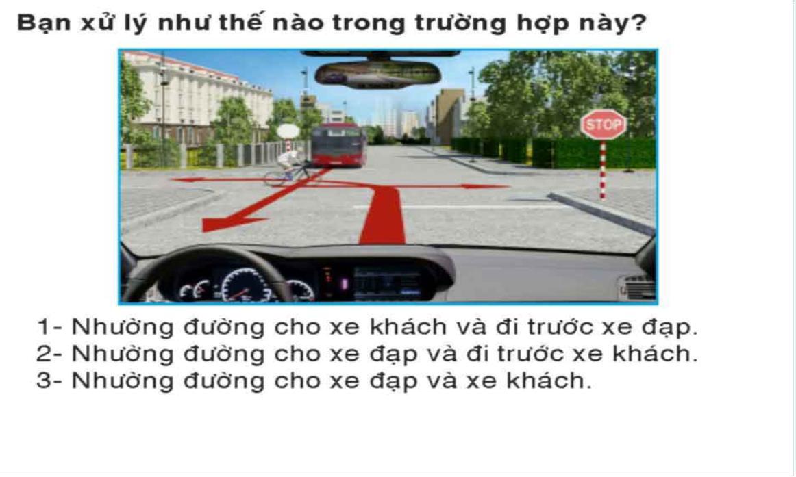 Thi lý thuyết lái xe ô tô