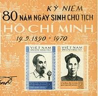 Các bộ tem phát hành nhân dịp kỷ niệm sinh nhật Bác