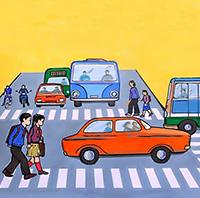 Đề thi Giao lưu tìm hiểu An toàn giao thông lớp 3