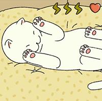 Cách vuốt mèo trong Adorable Home
