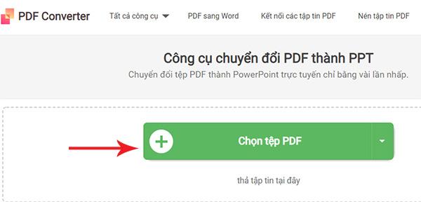 Chuyển pdf sang powerpoint