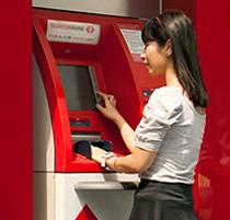 Cách nộp tiền tại cây ATM Techcombank