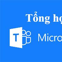 Tổng hợp phím tắt Microsoft Teams học trực tuyến