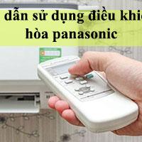 Hướng dẫn sử dụng điều khiển điều hòa Panasonic