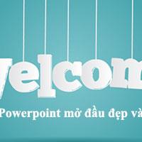 Tổng hợp hình nền Powerpoint mở đầu đẹp và ấn tượng