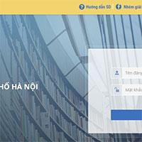 Cách đổi mật khẩu tài khoản giáo dục điện tử hnegov.vn