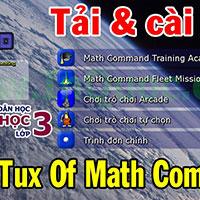 Phần mềm Tux of Math Command - Luyện toán