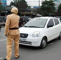 Trừ điểm bằng lái khi tài xế vi phạm giao thông