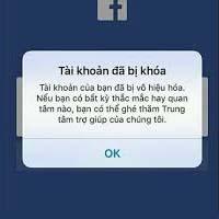 Tài khoản của bạn đã bị vô hiệu hóa - Cách gỡ lỗi Facebook