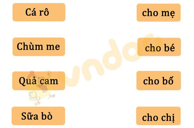 Đề thi giữa kì 1 lớp 1 môn Tiếng Việt năm 2020 sách Kết nối - Đề 2