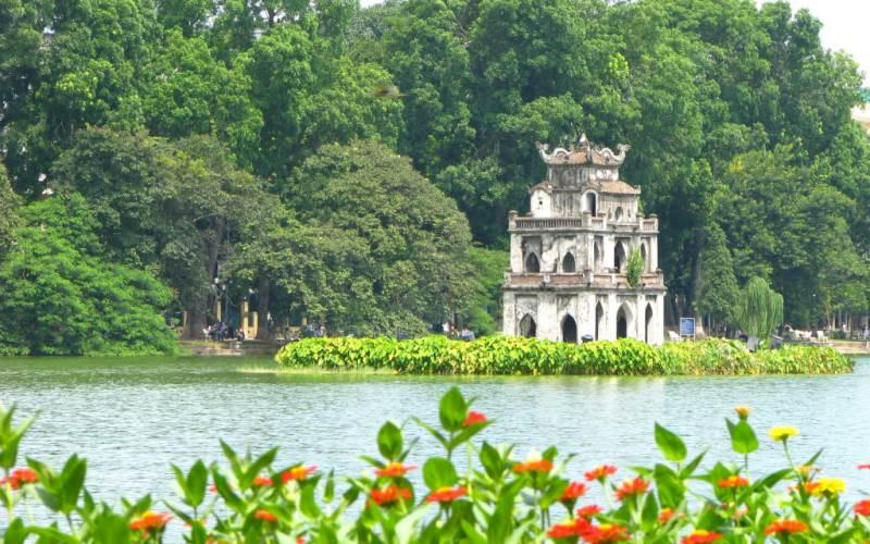 Tả cảnh đẹp đất nước mẫu 11: Hồ Gươm