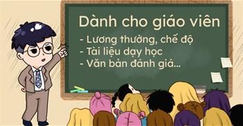Dành cho giáo viên