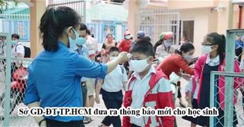 Chính thức: Đã có lịch nghỉ học của học sinh TP.HCM