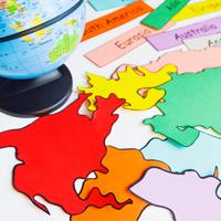 Tập bản đồ Địa lý lớp 7 bài 16: Đô thị hóa ở đới ôn hòa